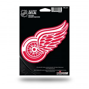 DETROIT RED WINGS MEDIUM DIE CUT STICKERS