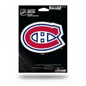 MONTREAL CANADIENS MEDIUM DIE CUT STICKERS