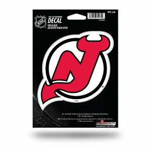 NEW JERSEY DEVILS MEDIUM DIE CUT STICKERS