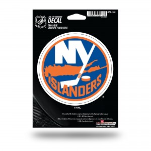 NEW YORK ISLANDERS MEDIUM DIE CUT STICKERS
