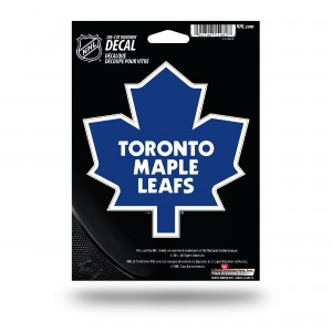 TORONTO MAPLE LEAFS MEDIUM DIE CUT STICKERS