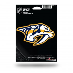 NASHVILLE PREDATORS MEDIUM DIE CUT STICKERS