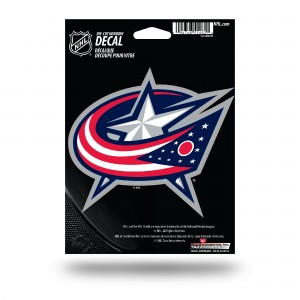 BLUE JACKETS MEDIUM DIE CUT STICKERS