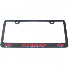 Arkansas Razorbacks Stainless License Plate Frame
