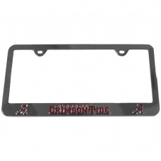 Alabama License Stainless Plate Frame