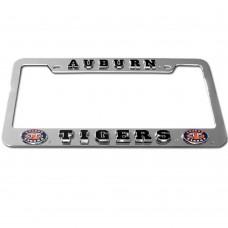 """Auburn """"Eyes"""" License Plate Frame"""