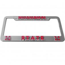 Mississippi St Bulldogs License Plate Frame
