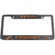 Oklahoma St. License Plate Frame