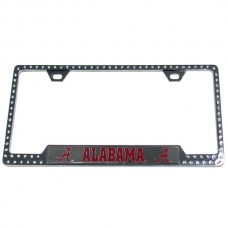 Alabama Bling License Plate Frame