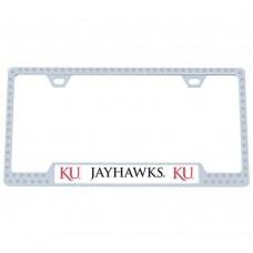 Kansas Bling License Plate Frame