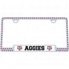 Texas A&M Bling License Plate Frame