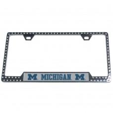 Michigan Bling License Plate Frame