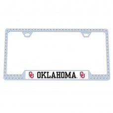 Oklahoma Bling License Plate Frame