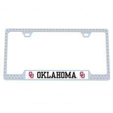 Oklahoma Bling License Plate Frame