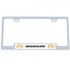 Missouri Bling License Plate Frame