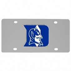 Duke Blue Devils Stainless Steel License Plate