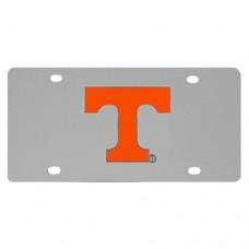Tennessee Volunteers Stainless Steel License Plate