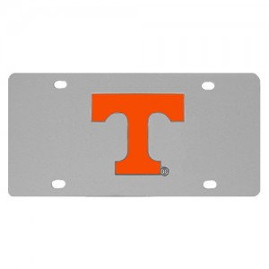 Tennessee Volunteers Stainless Steel Tennessee License Plates