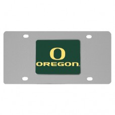 Oregon Ducks Stainless Steel License Plate