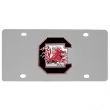 S. Carolina Gamecocks Stainless Steel License Plate
