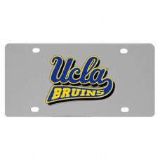 UCLA Bruins Stainless Steel License Plate