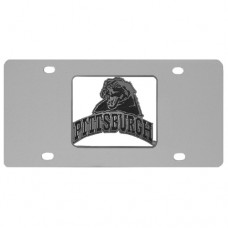 PITT Panthers Stainless Steel License Plate