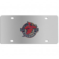 Iowa St. Cyclones Mascot Stainless Steel License Plate