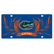 Florida Gators Flame License Plate