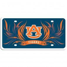 Auburn Flame License Plate