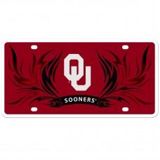 Oklahoma Flame License Plate