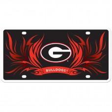 Georgia Flame License Plate