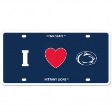 I Love PENN St. License  Plate