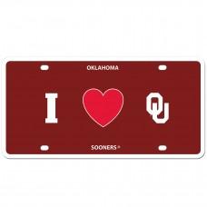 I Love Oklahoma License Plate