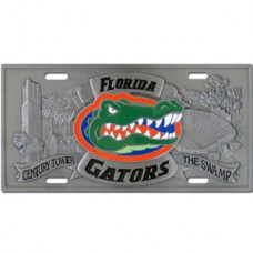 Florida Gators - 3D License Plate
