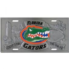 Florida Gators - 3D License Plate