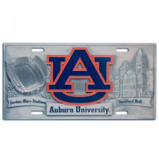 Auburn - 3D License Plate