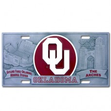Oklahoma - 3D License Plate