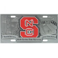 College - NC St Wolfpack License Plate
