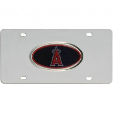 Angels Stainless Steel License Plate