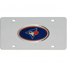 Jays Stainless Steel License Plate