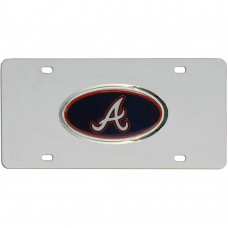 Braves Stainless Steel License Plate