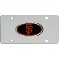 SF Giants Steel License Plate