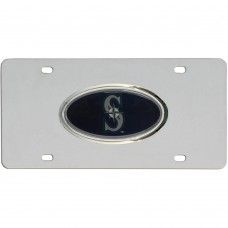 Mariners Steel License Plate