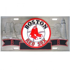 MLB Boston Red Sox License Plate