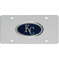 Royals Stainless Steel License Plate