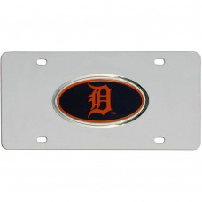Tigers Stainless Steel License Plate