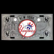 MLB New York Yankees License Plate