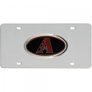 Diamondbacks Stainless Steel Arizona License Plates