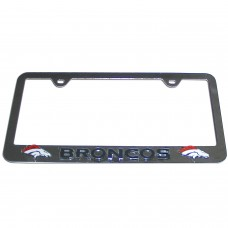 Broncos Colorado License Plate Frame