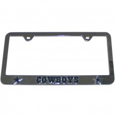 cowboys license plate frame